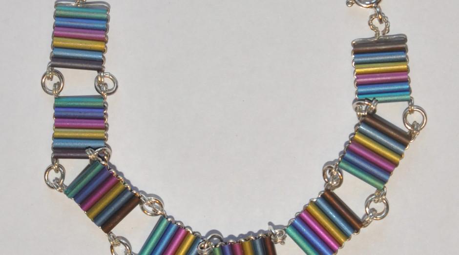 Niobium Tube Bracelet £75.00 crop