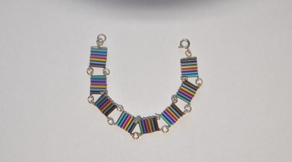 Niobium Tube Bracelet