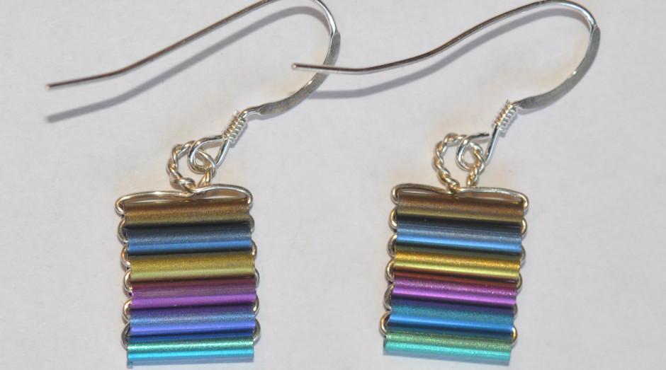 Niobium Tube Earrings £25.00 crop