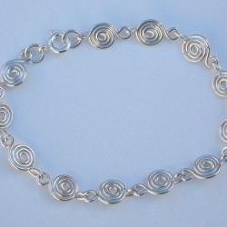 Silver Spiral Bracelet £35.00